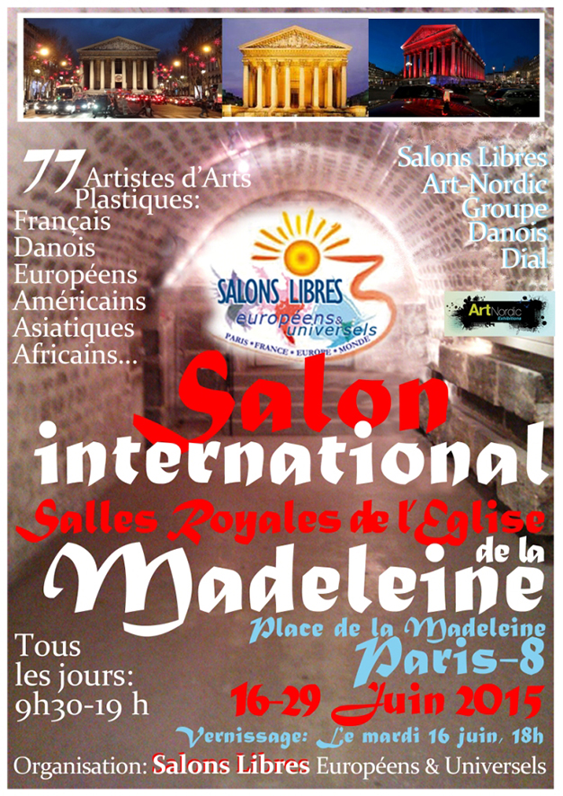 Salon International eglise de la Madeleine