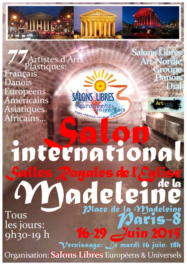 Salon International eglise de la Madeleine