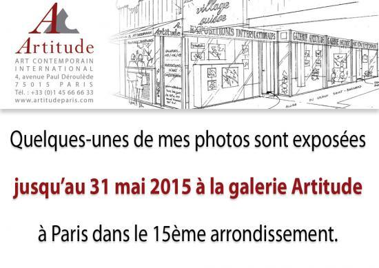 Exposition galerie artitude