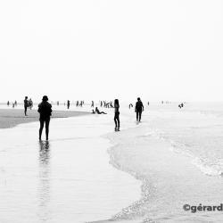 Scene de plage